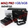 กล่องแอนดรอย-Android-Box-4K-MXQ PRO-Android 6.0 Lollipop Amlogic S905X Quad Core 1GB/8GB Android TV 64Bit
