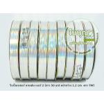 สีเงิน (TW เลเซอร์ ลายเส้น 12มิล ม้วนเล็ก)