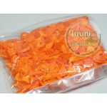 โบว์จิ๋ว สีส้ม (100 ชิ้น/ถุง)