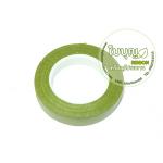 ฟลอร่าเทป สีเขียวขี้ม้า (จีน) 0.5นิ้วx20หลา (ม้วน)