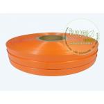 สีส้มชานม (Lovely Bow เงา 12มิล ม้วนใหญ่ 300 หลา)