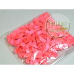 โบว์จิ๋ว สีชมพูสด (100 ชิ้น/ถุง)