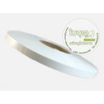 สีขาว (Lovely Bow เงา 12มิล ม้วนใหญ่ 300 หลา)