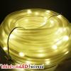 รุ่น L04-WW ไฟท่อประดับ 100LED โซล่าเซลล์(แสงเหลือง)