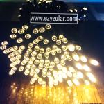 ไฟกระพริบโซล่าเซลล์ 200ดวง (แสงเหลือง)