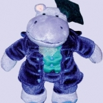 Music for Little Mozarts : Plush Toy - Professor Haydn Hippo