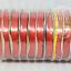 ริบบิ้นพับเหรียญ เนื้อมัน เบอร์ 2 ตราดอกไม้(มีฝา) (กว้าง 1.1 cm ยาว 40 หลา)*บางกว่าแบบไม่มีฝา thumbnail 5