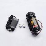 ปั๊มแรงดันต่ำ ขนาด 5.0 Lpm แถมฟรี Adaptor + ข้อต่อข้างปั๊ม